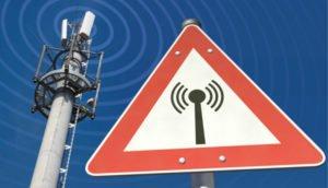 Symbolbild Mobilfunk Signal / Störung / Warnung
