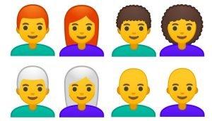 Die neuen Emojis bei Android 9.0 Pie