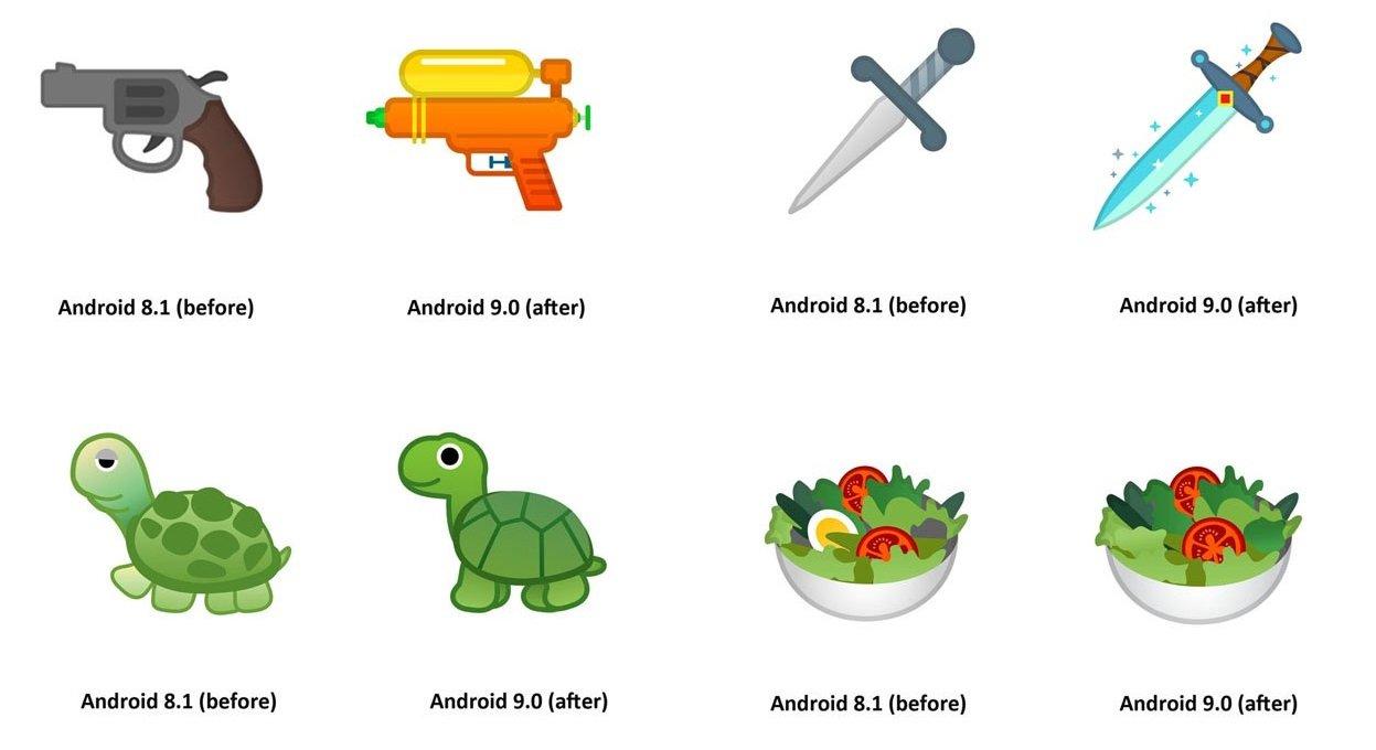 Android 90 Pie Mit 157 Neuen Emojis So Sehen Sie Aus Handyde