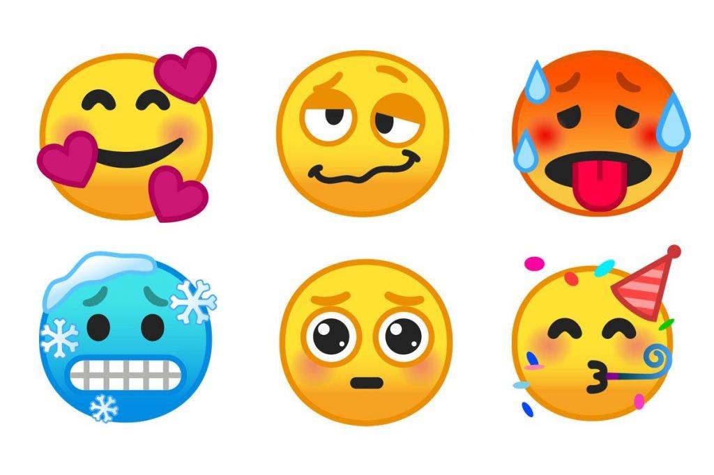 Android Neue Emojis