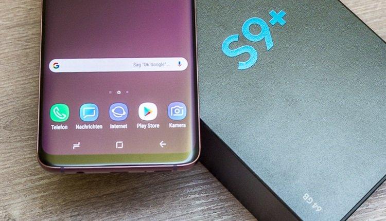 Nachrichten-App beim Galaxy S9+ von Samsung