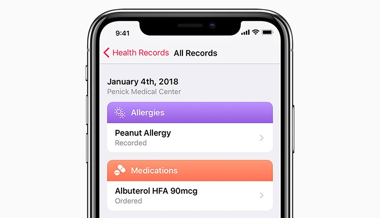 iPhone-Patientenakte: Apple öffnet Schnittstelle für externe Apps