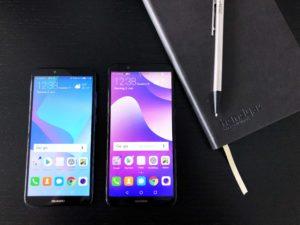 Huawei Y6 (2018) und Huawei Y7 (2018) im Vergleich