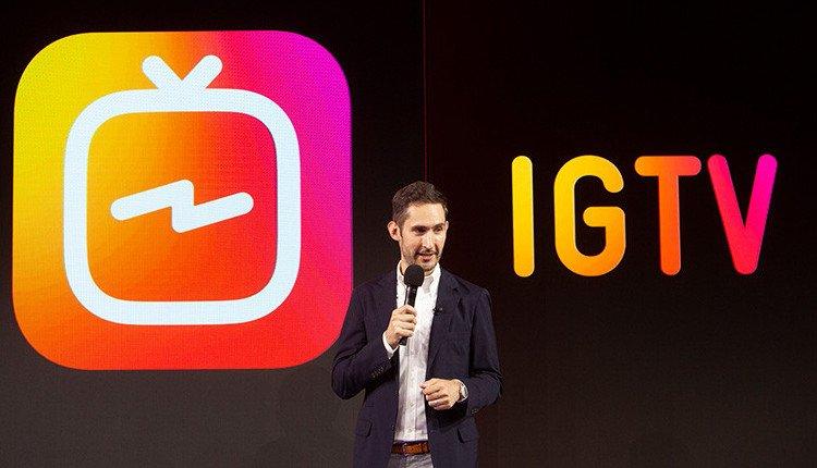 Kevin Syström von Instagram präsentiert IGTV