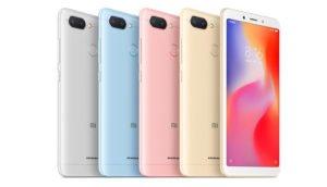 Xiaomi Redmi 6 und Redmi 6A offiziell vorgestellt