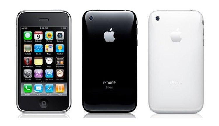 iPhone 3GS in Schwarz und Weiß