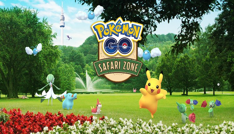 Pokémon GO Safari Zone Event in Dortmund