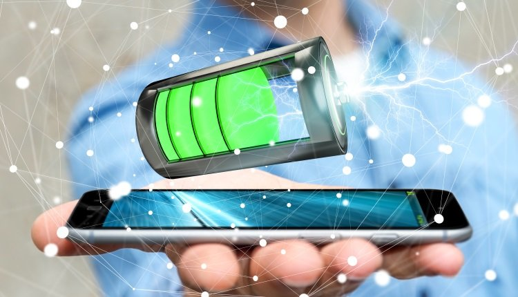 Smartphone mit großem Akku
