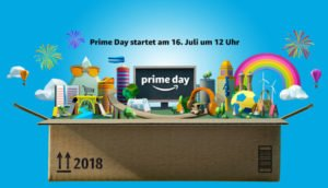 Amazon Prime Day 2018 startet am 16. Juli