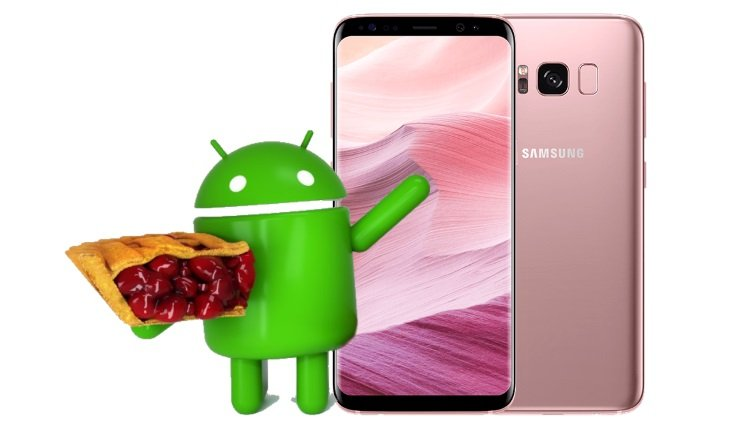 Galaxy S8 soll Android Pie bekommen.