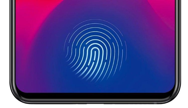 Vivo X21 mit Fingerabdrucksensor unterm Display