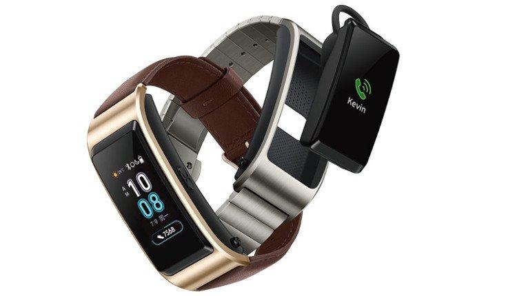 Zwei mögliche Varianten des Huawei TalkBand B5
