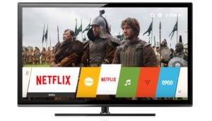 Netflix auf einem Smart TV