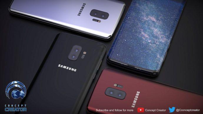 Samsung Galaxy S10: Ein Konzept