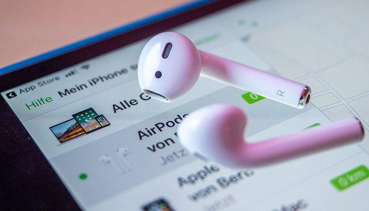 iOS 11.4.1 AirPods Mein iPhone suchen