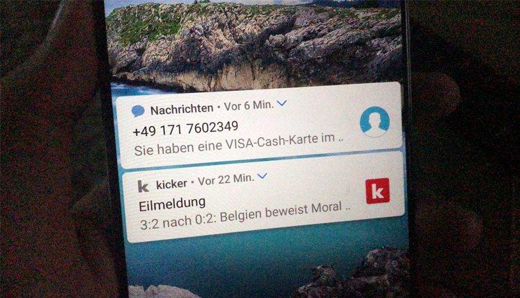 Visa-Cash-Karte gewonnen: Diese SMS ist Betrug