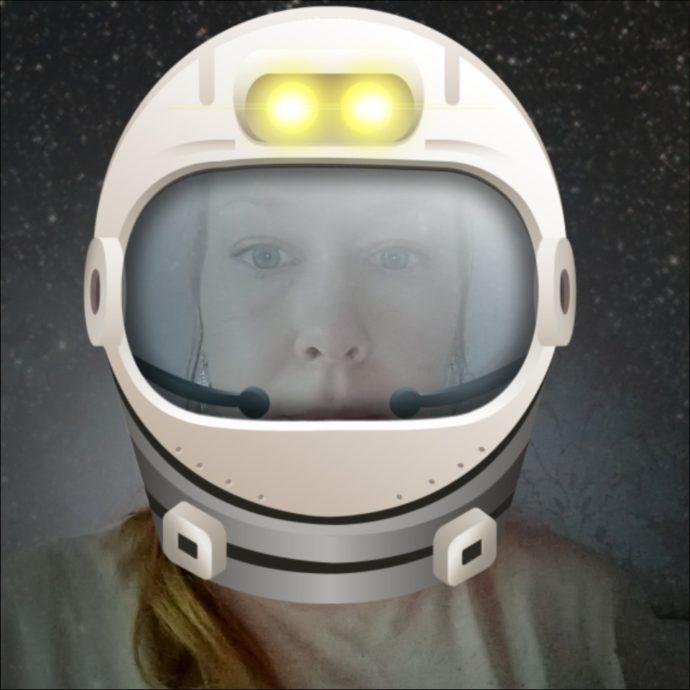 Foto-Filter Astronaut beim Moto Z3 Play