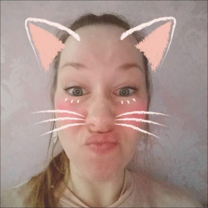 Foto-Filter Katze beim Moto Z3 Play
