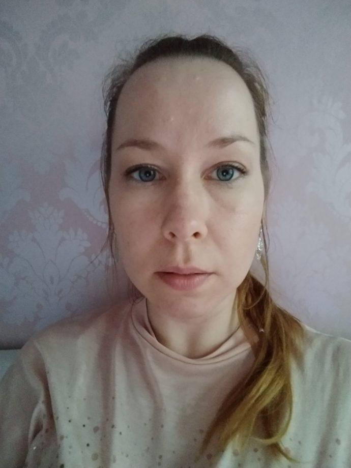 Normales Selfie ohne Filter mit Moto Z3 Play
