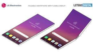 Faltbares Smartphone von LG