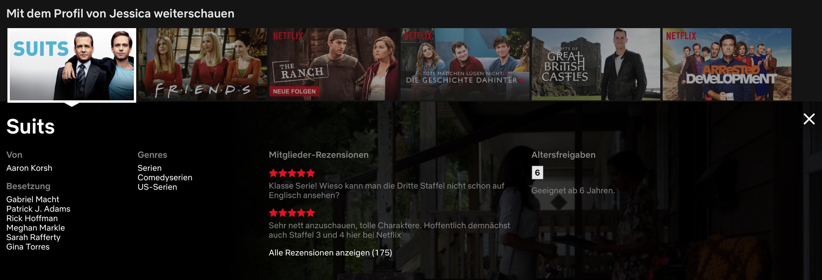 Netflix: Streaming-Dienst schafft Rezensionen ab | handy.de