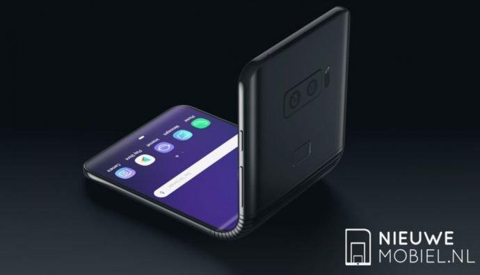 Render-Bild des Galaxy Fold: Das faltbare Smartphone