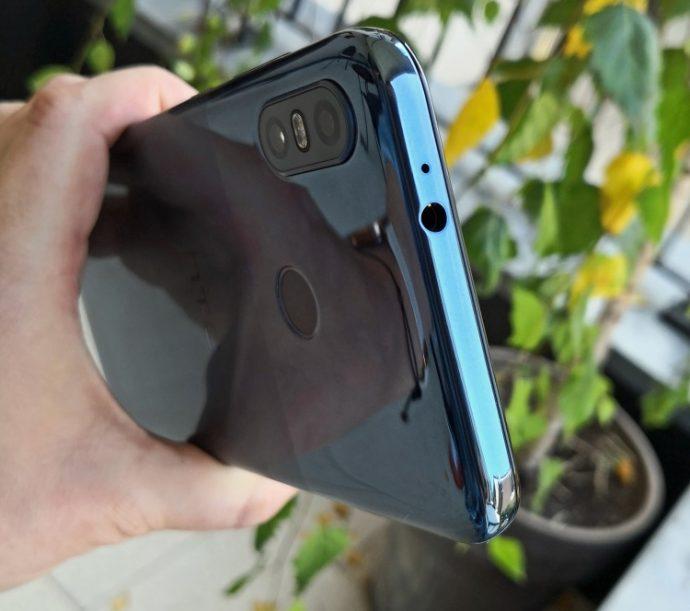 Klinkenbuchse des HTC U12 life