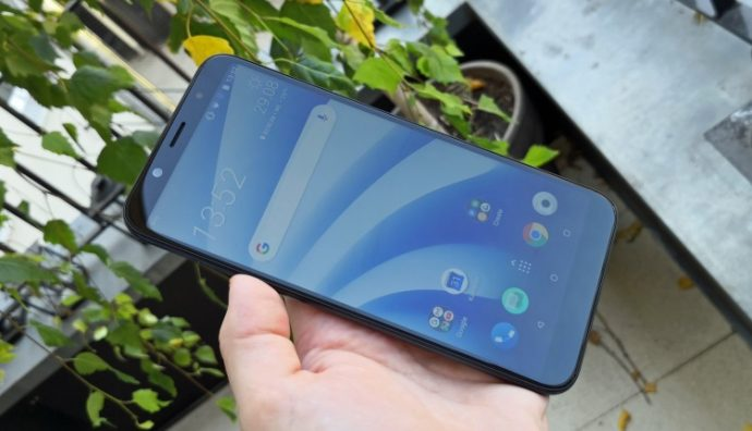 Fullview-Display des HTC U12 life