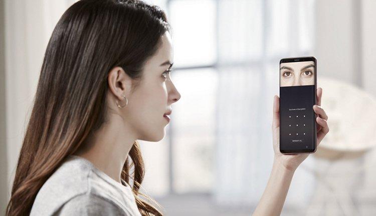 Irisscan Samsung Galaxy S9+