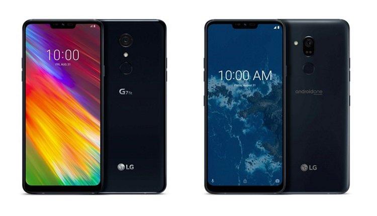 LG G7 One und LG G7 Fit