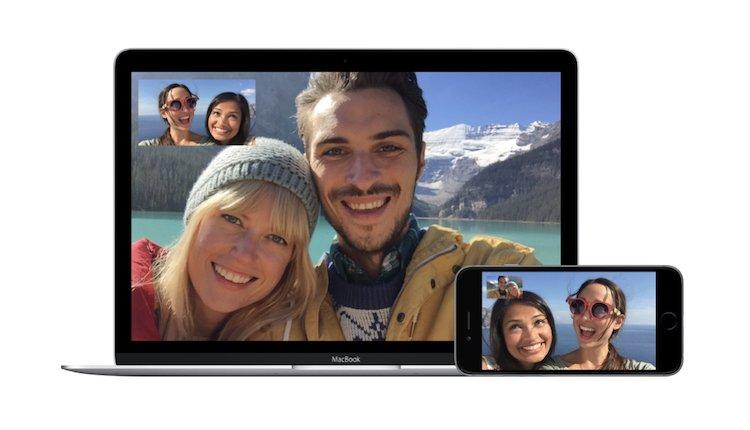 FaceTime auf dem Mac und iPhone