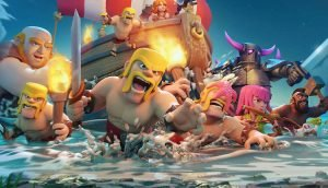 Clash of Clans Charaktere