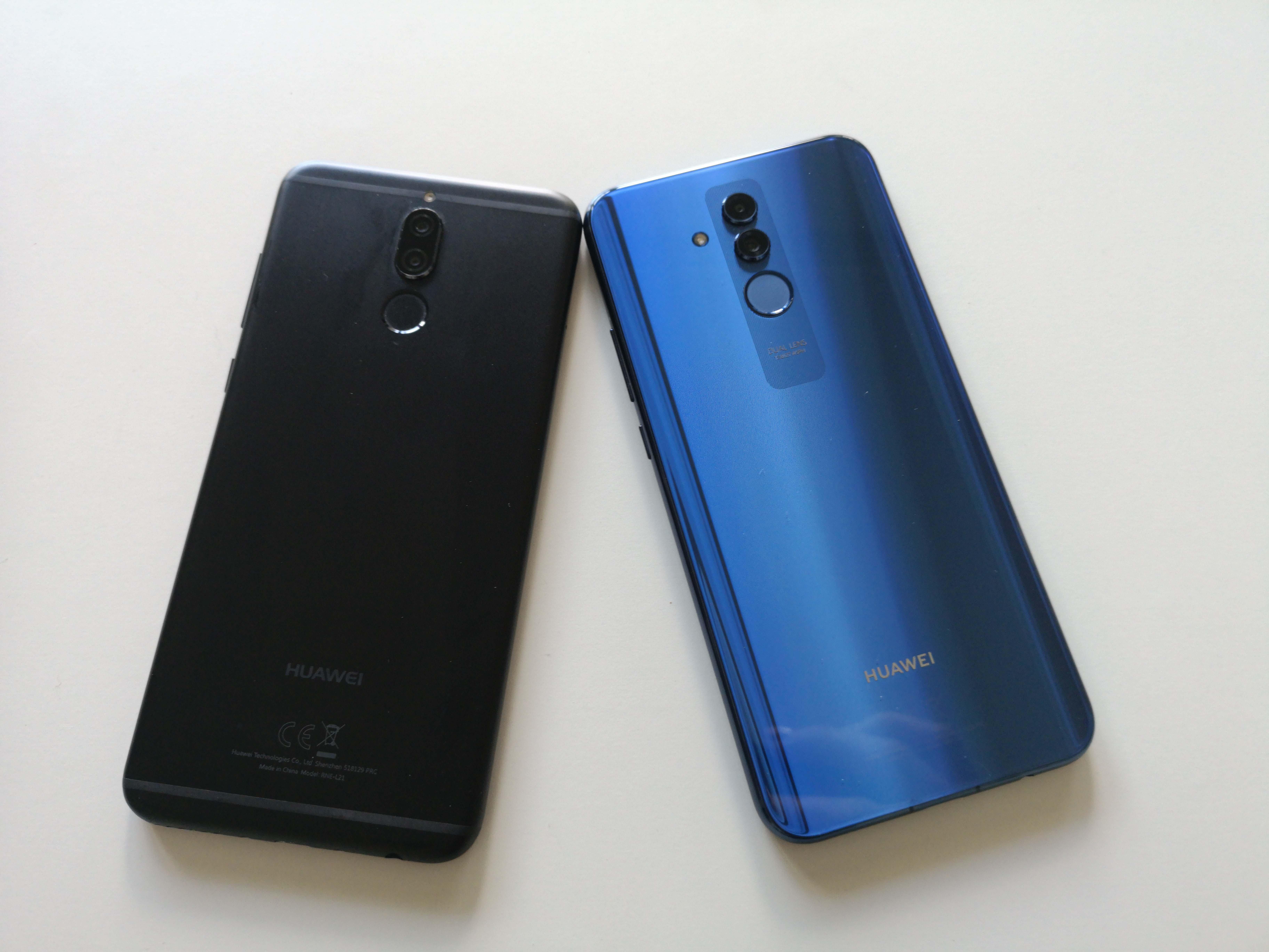 Huawei Mate 20 lite vs  Mate 10 lite: Viele Verbesserungen