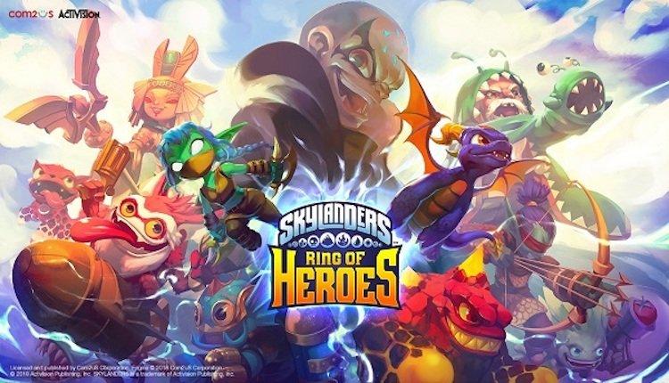 Skylanders: Ring of Heroes Titel
