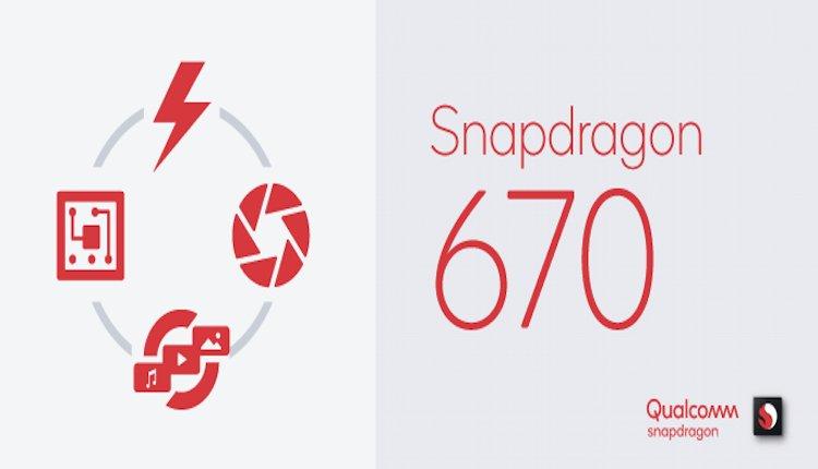 Snapdragon 670 mit Adreno 615 GPU