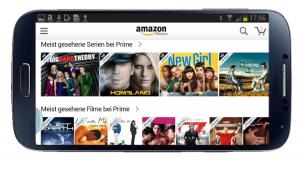 Amazon Video auf Android-Smartphone