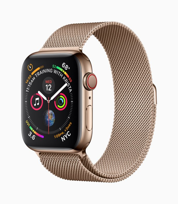 Apple Watch 4 Gold Milanese