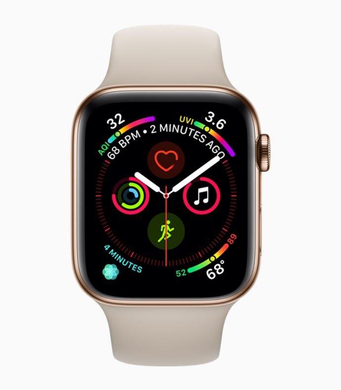 Apple Watch 4 - neues Aktivitäts-Watchface