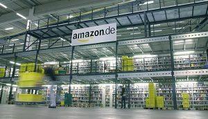 Amazon Logistik-Zentrum.