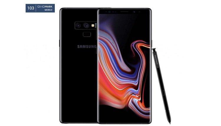 Samsung Galaxy Note 9 bei DxOMark