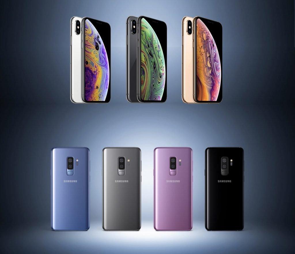 iphone 8 und galaxy 9 vergleich