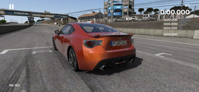 Project Cars Go Toyota Racing Start