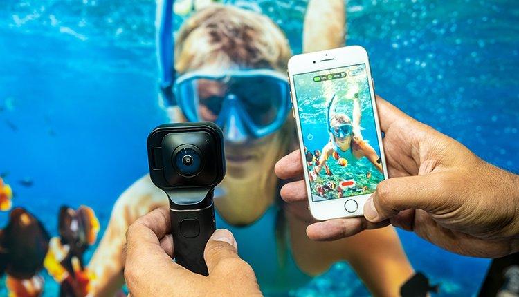 Vuze Xr als Beispiel für Smartphone-Zubehör für Foto und Video