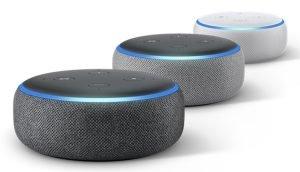 Amazon Echo Dot Farben