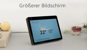 Amazon Echo Show größeres Display