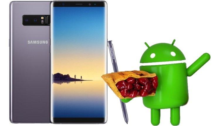 Das Samsung Galaxy Note bekommt Android 9 Pie