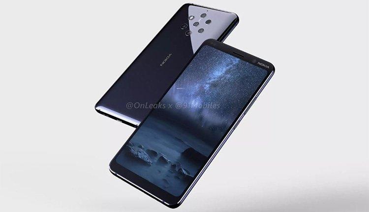 Render Bild Des Nokia 9