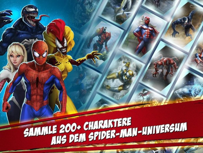 Spider-Man Mobile Unlimited Charakters