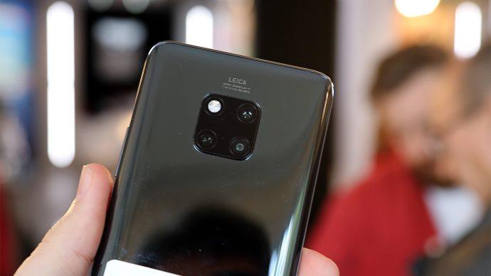 Huawei Mate 20 Pro Kamera-Array