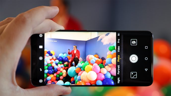 Huawei Mate 20 Pro Kamera normaler Weitwinkel